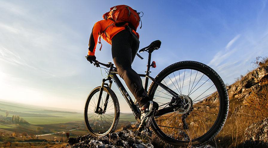 Får man använda en mountainbike överallt?
